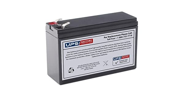 Amazon.com: BB cps5.5 – 12 12 V 5,5 ah compatible batería de ...