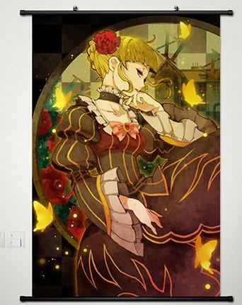 Home Decor Anime Umineko no Naku Koro ni Beatrice Wall Scroll Poster Fabric Painting Japanese Cosplay 23.6 X 35.4 Inches -108