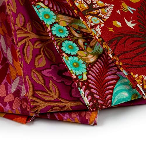 FreeSpirit Fabrics 50 Piece Designer Fat Quarter Fabric, Multicolor by Free Spirit Fabrics (Image #3)
