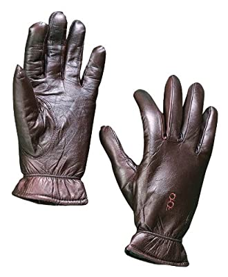 Bob-Allen Leather Insulated Gloves