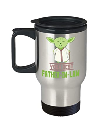 be351d4c5 Image Unavailable. Image not available for. Color: Gift For Fathers-In-Law  - Yoda Best Father-In-Law Mug