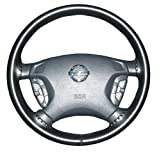 Leather Steering Wheel Cover : 14 1/8 X 4 1/8-01-black : 2010 2011 2012 2013 2014 2015 : Toyota Prius : Wheelskins Leather Steering Wheel Cover : Black