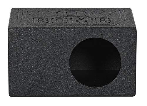 Rockville RQB65 Single 6.5″ Ported Subwoofer Enclosure Bedlined Sub Box 1.01 Cu