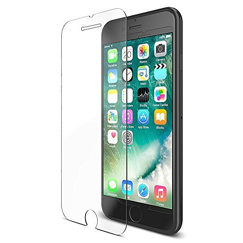 iPhone 7 Screen Protector Tempered Glass Full Coverage, Corastar Japanese Glass 9H 33mm, Ultra Slim iPhone 7 Screen Protector Clear, Protect Your Investment by Corastar (Image #1)