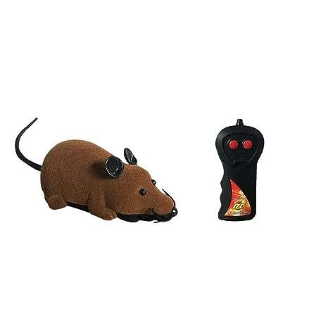 YING - Mando a Distancia inalámbrico para Ratas y Ratones, Juguete Divertido para Gatos y