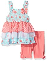 Little Lass Girls' 2 Piece Bike Short Se...