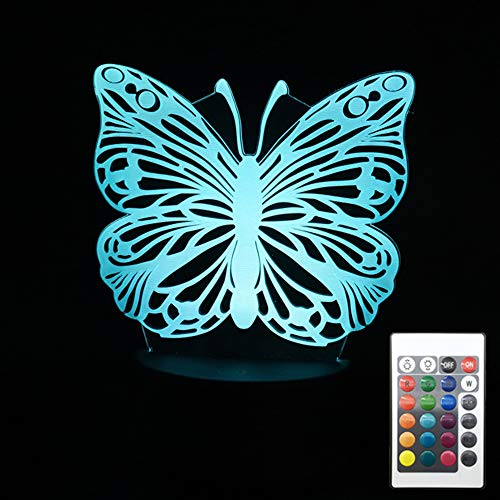 Led 3D Butterfly Night Lights in US - 9