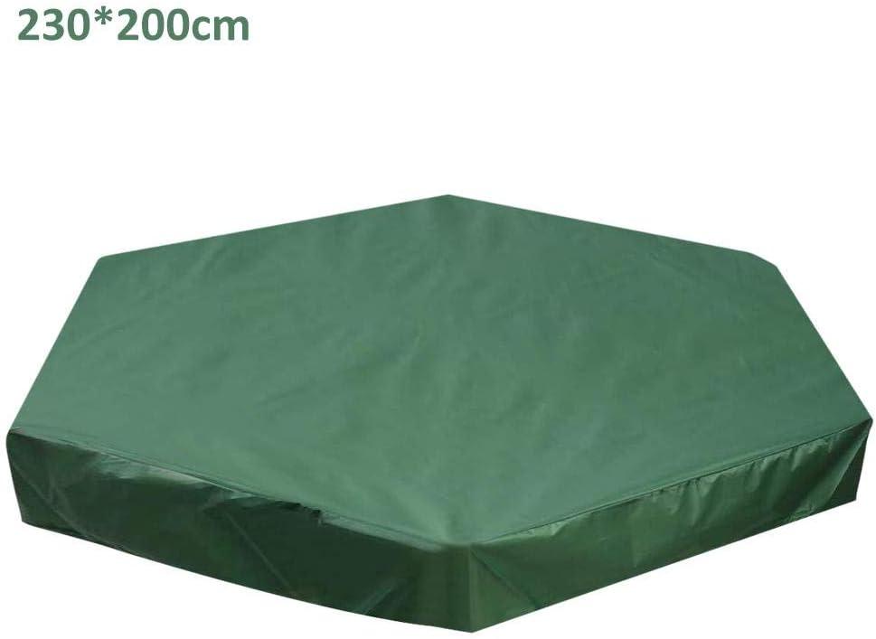 Couverture de Bac /à Sable avec Cordon,R/ésistant /à la poussi/ère /étanche aux UV /Évitez la Contamination par Le Sable et Les Jouets pour Le Jardin ext/érieur B/âche de Protection pour Bac /à Sable