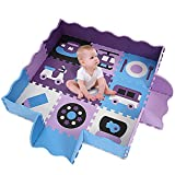 Smibie Extra Thick Foam Baby Play Mat With Fence for Tummy Time and Crawling 25 Pcs