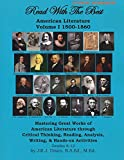 Read with the Best: American Literature Volume 1 1500- 1860 Student Workbook