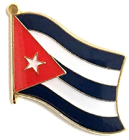 United Nation Cuba Friendship Flag Badge Lapel Pin Pins Apparel Sewing & Fabric