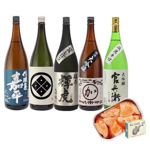 日本酒の最高峰 バイヤー渾身の大吟醸1.8L 5本セット あんきも付き