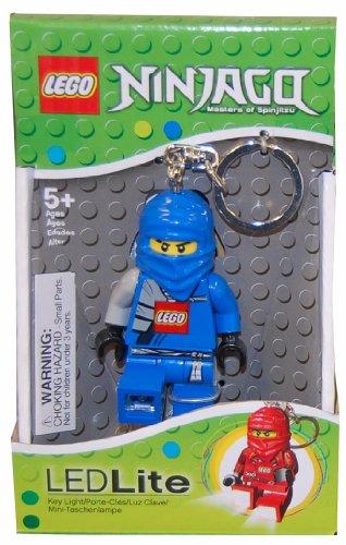 LEGO Blue Ninjago Keychain LEDLite