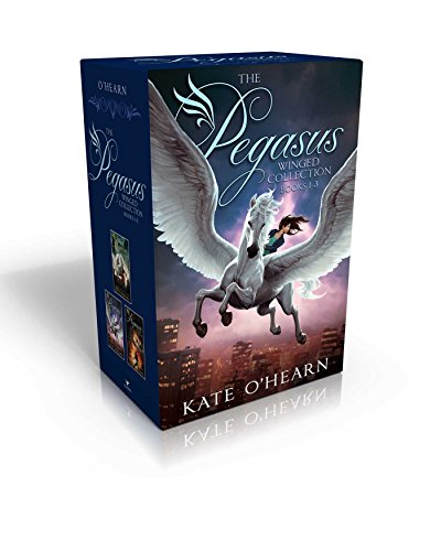 The Pegasus Winged Collection Books 1-3: The Flame of Olympus; Olympus at War; The New Olympians