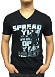 Greater Apparel Spread Your Arms EDM Rave V-neck Large Black