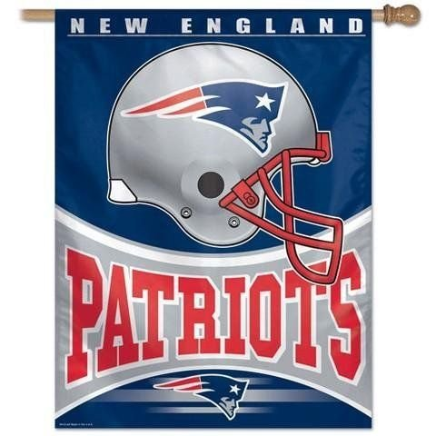 NFL New England Patriots 27-by-37-Inch Vertical - Stores Ne Mall