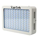 Cheap YaeTek LED Grow Light Full Specturm for Greenhouse and Indoor Plant Flowering Growing (300W)