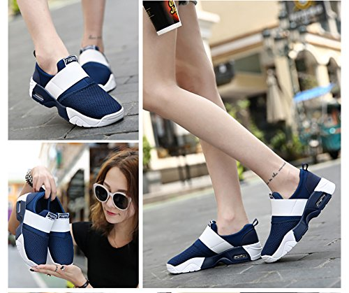 Sneaker 66 Running Shoes Women's Town Air Men's Fashion Casual Walking Blue No v1dZ70v