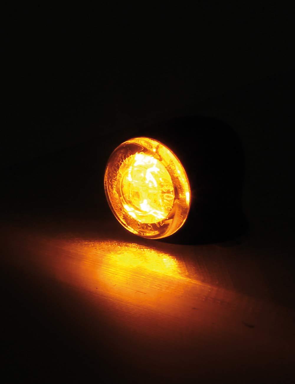 HIGHSIDER Proton Lot de 2 feux arri/ère LED 3 en 1 pour moto