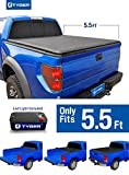 Tyger Auto TG-BC1F9022 TOPRO Roll Up Truck Bed Tonneau Cover 2009-2014 Ford F-150 (Excl. Raptor Series) | Styleside 5.5' Bed | For models without Utility Track System