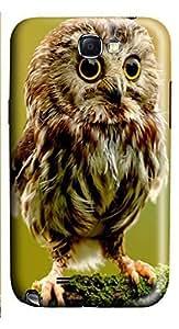 Samsung Note 2 Case Baby Owl 3D Custom Samsung Note 2 Case Cover WANGJING JINDA