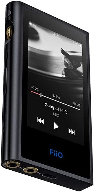 FiiO M9 High Resolution Lossless Music MP3 Player with aptX, aptX HD, LDAC HiFi Bluetooth, USB Audio/DAC,DSD128 Support and WiFi/Air Play Full Touch Screen (Black)