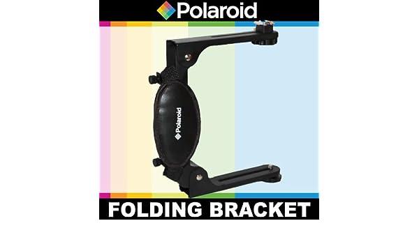 Polaroid Dual plegable Flash para la Pentax Q, Q10, X de 5, K-01, K-30, K-X, K-7, K-5, K-5 II, K-R, 645d, K20D, K200D, K2000, K10D, K2000, K1000, ...