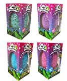 #7: Hatchimals JUMBO Bath Bomb Surprise Set of 4 - Burtle Berry, Penguala Pineapple, Draggle Grape and Penguala Bubble Gum Scented