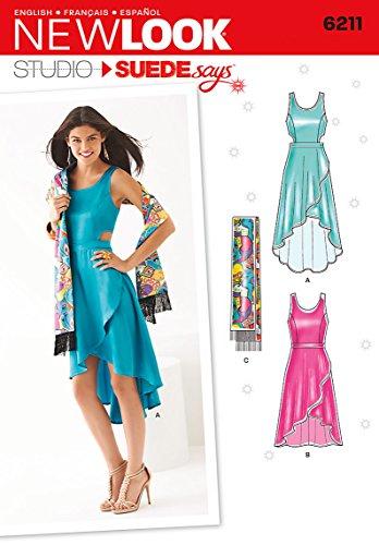 New Look NL6211 Patron de Couture Robe Femmes 22 x 15 cm