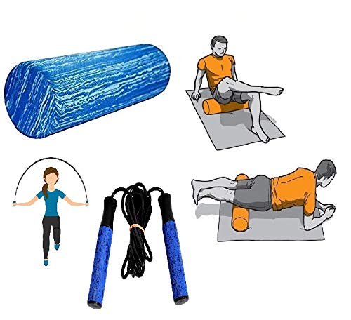 VIFITKIT Soft Foam Roller for Self Massage and Therapy, Trigger Point Pain Relief, Exercise and Fitness (30cm Regular Size) with Free Skipping Rope Price & Reviews