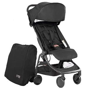 Mountain Buggy Nano V3 Stroller (Black)