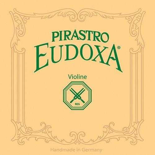 Pirastro Eudoxa Series Violin String Set 4/4 with E Steel / Aluminum Loop End