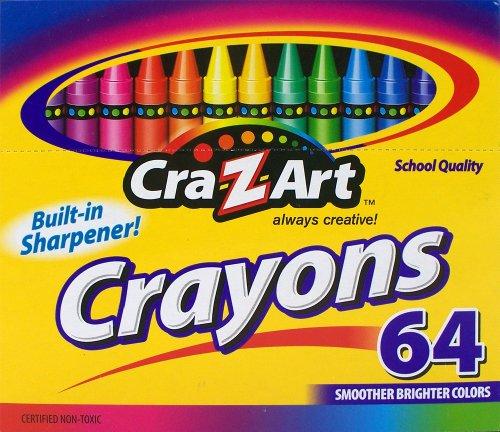 Cra Z art Crayons 64 Count 10202