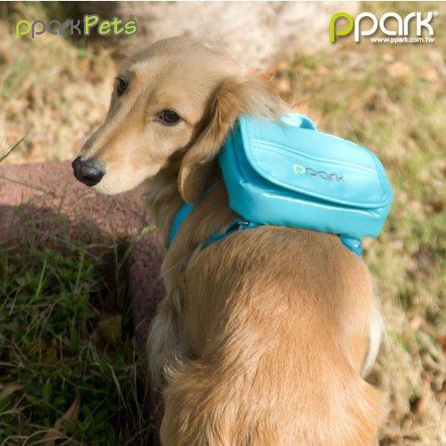 [해외]개 배낭 - 청록색 - 대형/Dog Backpack - Turquoise - Large