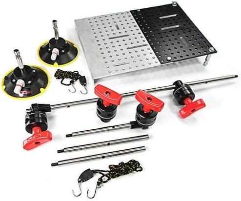 Matthews Brauer Hostess Tray Kit 2X 2.5 Quick Heads 2X Grip Heads Includes 6X Ricky Rods