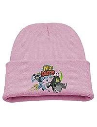 Wild Kratts Warm Winter Hat Knit Beanie Skull Cap Cuff Beanie Hat Winter Hats Girls
