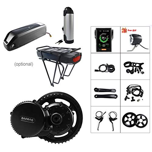 BAFANG BBS02 48V 500W Ebike Electric Bicycle Motor 8fun Mid Drive Electric Bike Conversion Kit