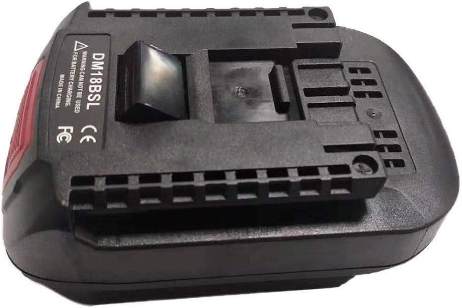 20V en convertisseurs de Batterie Bosch Tool iShin/é Adaptateur convertisseur de Batterie DM18BSL pour la Conversion de Batteries Li-ION Milwaukee 18V M18 Dewalt