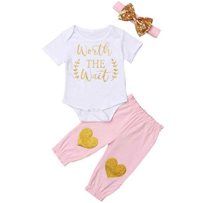 Amazon.com: Body para bebé recién nacido con purpurina ...