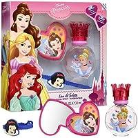 Air-Val Disney Princess For Children - Eau De Toilette, 30 ml + Bracelet + Mirror Set