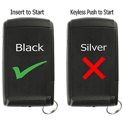 KeylessOption Keyless Entry Remote Control Car Key Fob for 2004-2009 Toyota Prius Prius MOZB21TG: Automotive