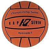 KAP7 Size 5 HydroGrip Water Polo Ball, Neon Orange