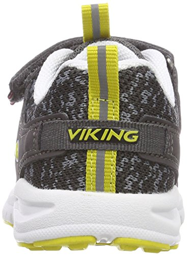 Viking Unisex-Kinder Veil Outdoor Fitnessschuhe Grau (Charcoal/Lime 7788)