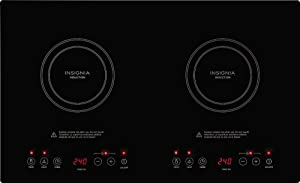 Insignia Dual Induction Cook top (Black)