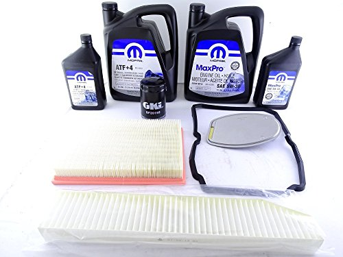 Service Kit Cabin AT Air Oil Filters:
