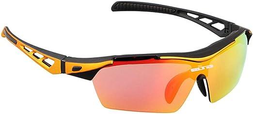 L&JING Vidrios de la Bicicleta, Gafas de Bicicleta de montaña ...