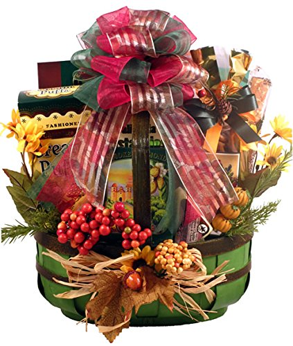 Fall Gourmet Thanksgiving Gift Basket- Grand by Organic Stores
