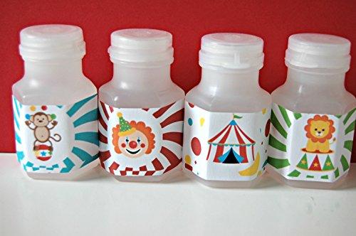 Circus Theme Party Favor Bubbles (12 Pack)