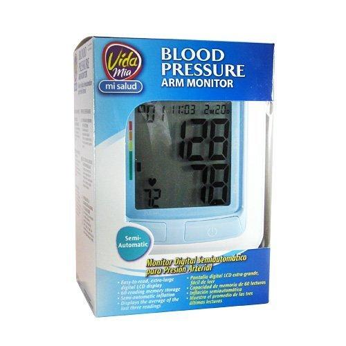 Vida Mia Blood Pressure Arm Monitor Semi-Automatic by Vida Mia