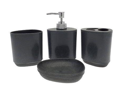 Set Da Bagno Moderno : Moderno set di accessori da bagno portasapone dispenser